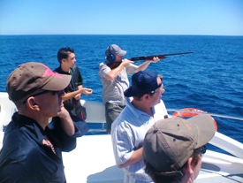 Boat Clay Shooting Cape Town