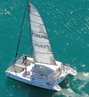 Peroni Catamaran Yacht Boat Charter Cape Town