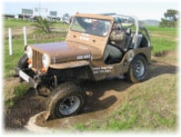 Jeep 4x4 off road adventures Cape.