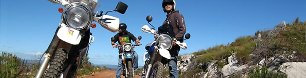 Motorcycle and Motorbike Trails from Cape Town.